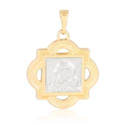 Medalik pozłacany - 2,8cm - PRZ1273