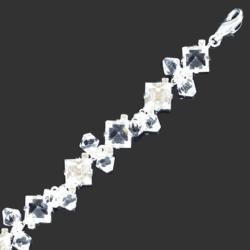Bransoletka z kryształami B/27 - 22,5cm BRA648