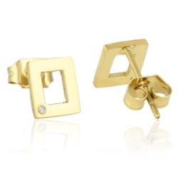 Kolczyki pozłacane - EAP6161