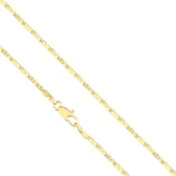 Łańcuszek pozłacany - LAP957