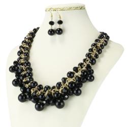 Komplet biżuterii - Naszyjnik i Kolczyki - KOM18