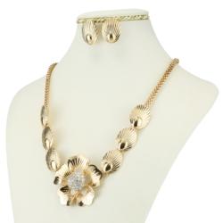 Komplet biżuterii - Naszyjnik i Kolczyki - KOM32