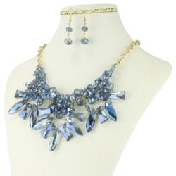 Komplet biżuterii - Naszyjnik i Kolczyki - KOM33