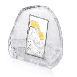Przycisk Szklany - Madonna - 11,5x11,5cm PS06