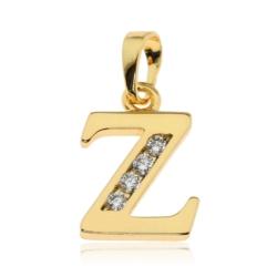 Przywieszka pozłacana Xuping - litera Z - PRZ1434