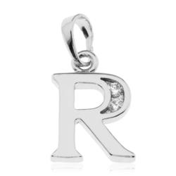 Przywieszka rodowana Xuping - litera R - PRZ1495