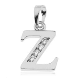 Przywieszka rodowana Xuping - litera Z - PRZ1500