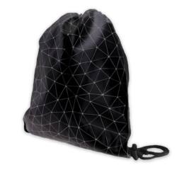 Plecak młodzieżowy - Geometric Line - Black PL69