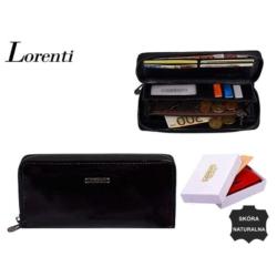 Portfel damski - 76119-sh black - 20x10cm - P557