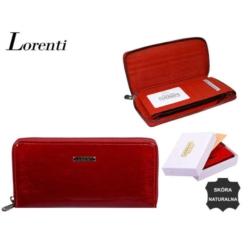 Portfel damski - 76119-sh red - 20x10cm - P558