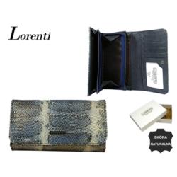 Portfel damski - 76110-SK BLUE - 18x10cm - P561