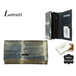 Portfel damski - 76114-SK BLUE - 18x10cm - P563