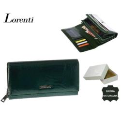 Portfel damski - 76111 RS GREEN - 19x10cm - P566