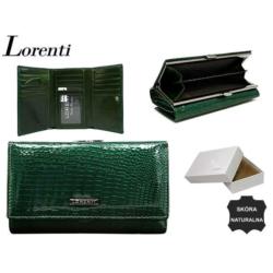 Portfel damski - 55020 RS GREEN - 14x9cm - P567