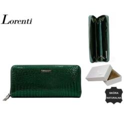 Portfel damski - 77006-nic RS GREEN 20x9cm - P568