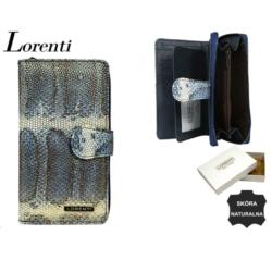 Portfel damski - 76116-sk BLUE - 17x9cm - P569