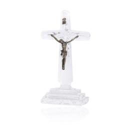 Krzyż kryształowy - wys. 21cm - KR21