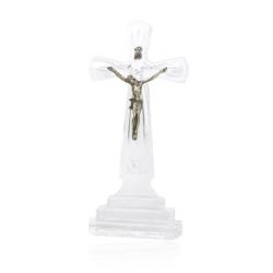 Krzyż kryształowy - wys. 21cm - KR22