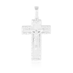 Krzyżyk rodowany Xuping - 4cm - PRZ1540