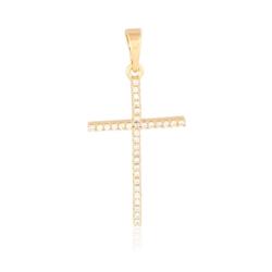 Krzyżyk pozłacany Xuping - 3,3cm - PRZ1541