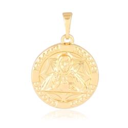 Medalik pozłacany Xuping - 2,6cm - PRZ1554