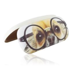 Etui na okulary - oczy pieska w okularach - EO111