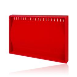 Ekspozytor na bransoletki-czerwony wys:36cm EKS08