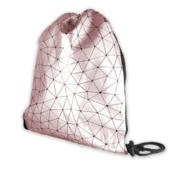 Plecak młodzieżowy - Geometric Line - Pink PL71
