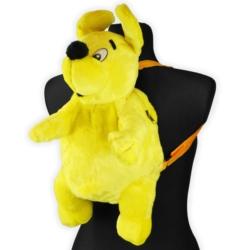 Plecak młodzieżowy żółty piesek - PL80