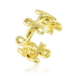 Pierścionek z regulacją - Złoty wieniec - PIER60