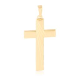 Krzyżyk pozłacany - 5,4cm - PRZ1606