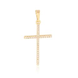 Krzyżyk pozłacany - 3,3cm - PRZ1607