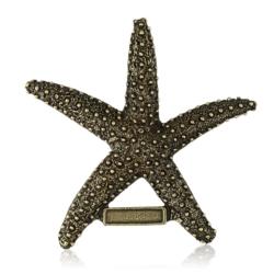 Magnes metalowy rozgwiazda - 9cm - MM76