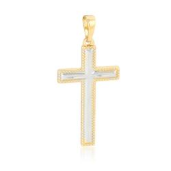 Krzyżyk pozłacany - 3,4cm - PRZ1624