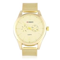 Zegarek męski na złotej bransolecie - Z430