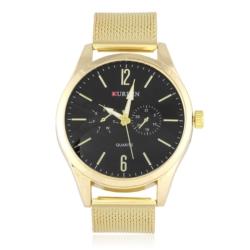 Zegarek męski na złotej bransolecie - Z432