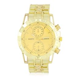 Zegarek męski na złotej bransolecie - Z435