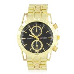 Zegarek męski na złotej bransolecie - Z436