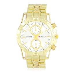 Zegarek męski na złotej bransolecie - Z437
