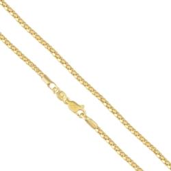 Łańcuszek pozłacany wężowa linka - LAP1071
