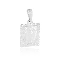 Medalik rodowany Maria - 2cm - PRZ1649