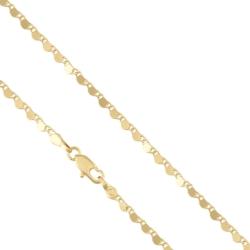 Łańcuszek pozłacany - LAP1088