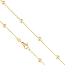 Łańcuszek pozłacany - LAP1093
