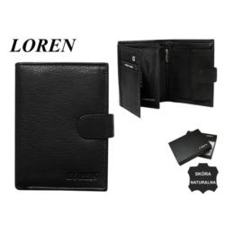 Portfel męski Loren - N326L-NGL 13x10cm P586