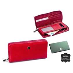 Portfel damski - px25-2 mt red 19x10cm P593