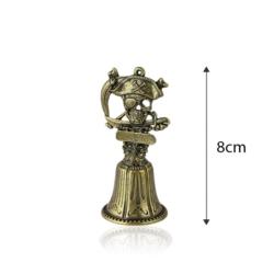 Figurka dzwonek Herb Piracki - 8cm - 367 - FR201