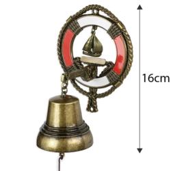 Dzwonek wiszący koło ratunkowe 16cm - 368 - FR202