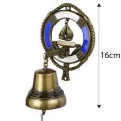 Dzwonek wiszący koło ratunkowe 16cm - 368 - FR203
