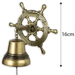 Dzwonek wiszący ster - 16cm - 370 - FR204