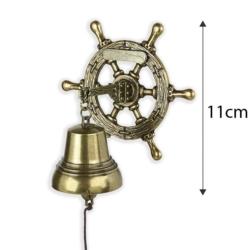 Dzwonek wiszący ster - 11cm - 373 - FR207